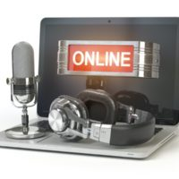 Note PC with microphone, headphones